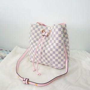 Louis Vuitton neonoe pink azur